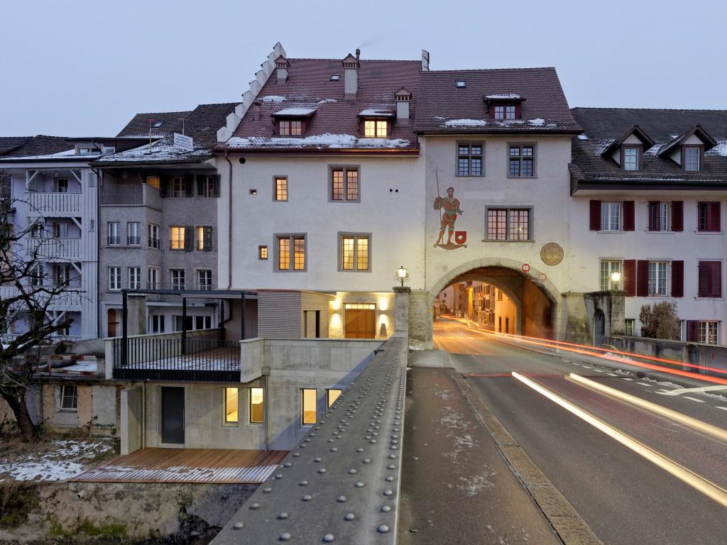 Altes Rathaus Mellingen Stimmungsbild